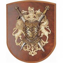 Панно мини - меч Ричарда Львиное Сердце, мини - меч Тизона Д`Сида Denix 518