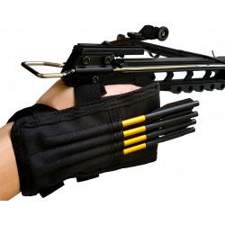 Колчан на руку для дротиков арбалет пистолета