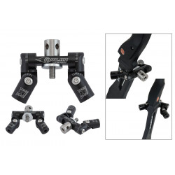 Тройник регулируемый Avalon TEC X PRO// DUO ADJUSTABLE V-BAR MOUNT